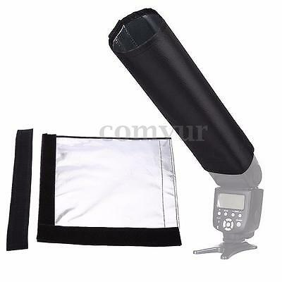 Camera Foldable Speedlight Reflector Snoot Flash Beam Cloth Mat Softbox Diffuser
