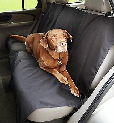 AmazonBasics Waterproof Car Bench Seat Cover for Pets