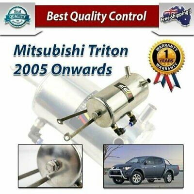 Mitsubishi L200 Triton ML MN 2.5 Liter Diesel Turbo Oil Catch Can Tank 2005 UP