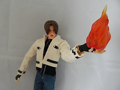 "The King of Fighters 2000 Kyo Kusanagi 12"" Figure Blue Box Toy"