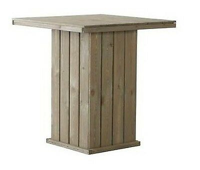 Bar table Standing out FSC Wood Garden 100 x 100 cm Party Wooden T