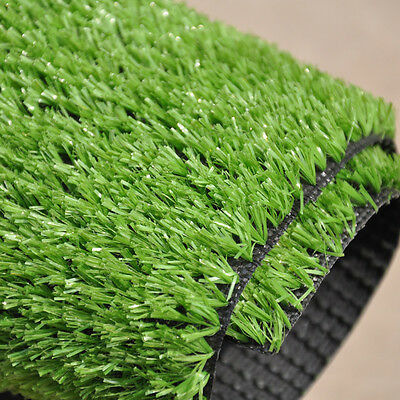 Artificial Grass Quality Fake Lawn Synthetic Turf 10mm Pile 1m x 1m