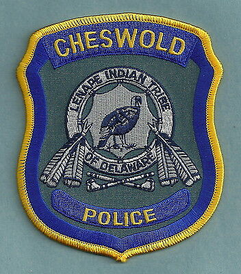 Cheswold Lenape Delaware Tribal Police Patch