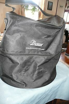 Nu Wave Oven  Carry Bag  zipper closure carrying handle  excellent