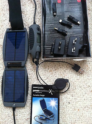 solar portable travel charger