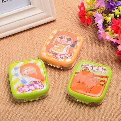 1pc Anime Pattern Portable Contact Lenses Cases Himouto Umaru-chan Vision Care