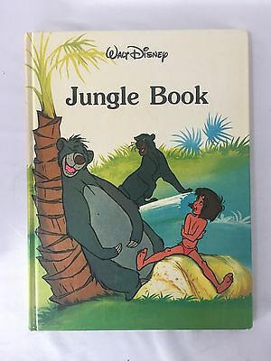 Disney Jungle Book Classic Series Hardcover Storybook VTG 1988 Gallery Twin book