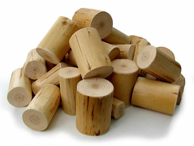 Decorative Display Wood Logs, clean, neat, peeled for Interior Fireplace - 2nds