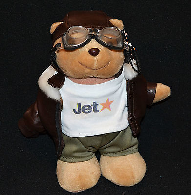 Jet Star Airlines Collectable Teddy Bear 20cm