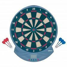 21.99 NEW  Electronic Dartboard Led  Display Soft Tip 18 Games Darts FREEPOST
