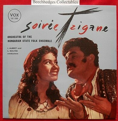 """Soiree Tzigane Orchestra Of the Hungarian State Folk Ensemble 10"""" EP"""