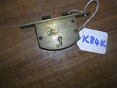 Large Antique Brass Chubb Lock For A Writing Slope