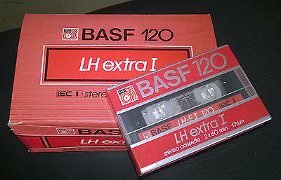 Cassette Audio Tape BASF LH Extra I C120 (1982-84)