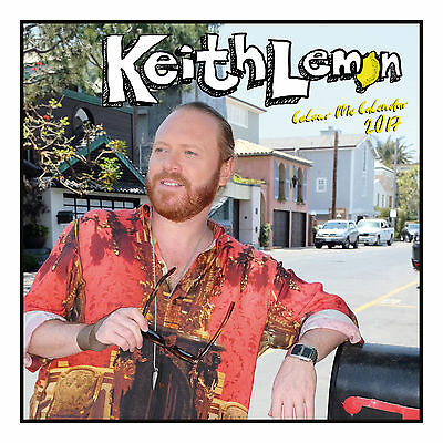 Keith Lemon Official 2017 Square Wall Calendar