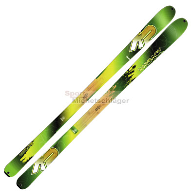K2 Wayback 88 Tourenski ohne Bindung Backcountry Ski Flat Touringski 1 Paar NEU