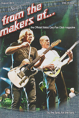 Status Quo - From The Makers Of... Fan Club Magazine Vol.15 No.2 August 2016