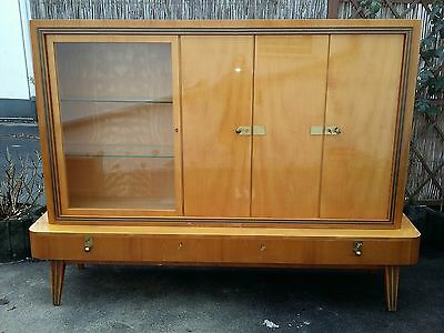 50er jahre schrank anrichte mid century rickabilly eur 150 00 picclick de. Black Bedroom Furniture Sets. Home Design Ideas