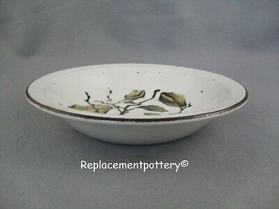 Midwinter Greenleaves - Stonehenge rimmed bowl.