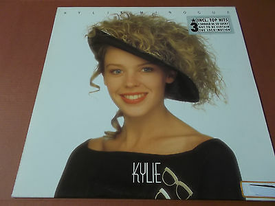 Kylie Minogue: Kylie: Vinyl Lp: 1988: Ois: I Should Be So Lucky: The Loco-Motion