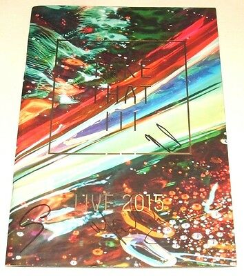 TAKE THAT - Live 2015 - UK Fully signed tour programme COA (by all three)