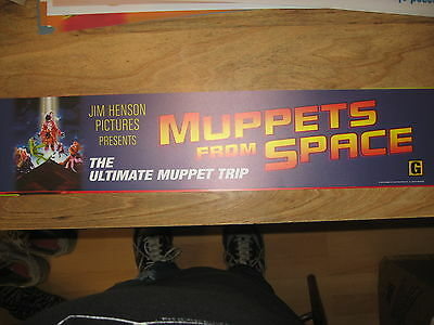 Theater Marquee Mylar Muppets From Space