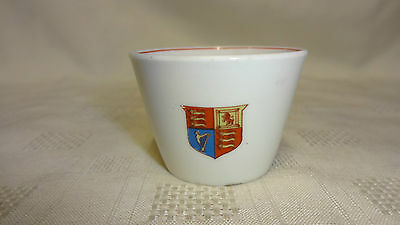 Very Rare WW1 Sugar Basin For Family Of 10 - D.Lloyd George Message