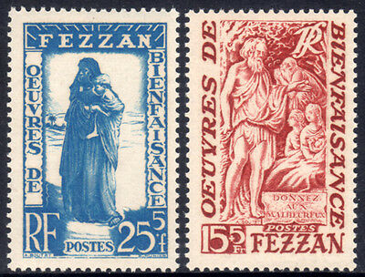 1950 Fezzan Beneficenza cmpl 2 v. **