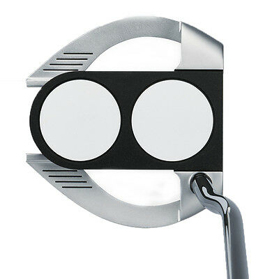Odyssey  Left Handed Works 2 Ball Fang Putter Brand New