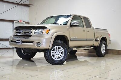 2003 Toyota Tundra SR5 Extended Cab Pickup 4-Door TOYOTA TUNDRA STEPSIDE ACCESS CAB 4X4 LIFTED IFORCE V8 4.7L NEW TIRES BEDLINER