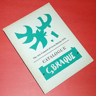 GEORGES BRAQUE Tate Gallery exhibition catalogue UK GREAT BRITAIN 1956