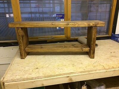 Quality-Wooden-Handmade-kitchen-Dining utility Bench, Chunky and Sturdy