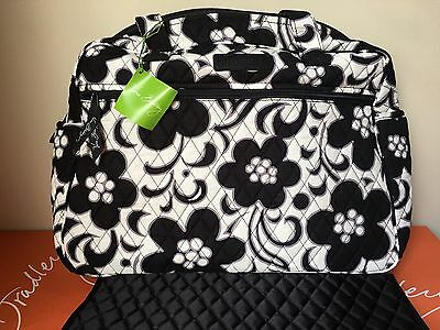 NWT Vera Bradley Heater Large Baby Bag Diaper bag & Changing Pad