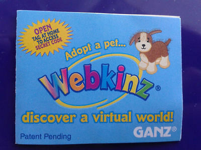 WEBKINZ FROG Secret Code only NO PLUSH! CODE ONLY! HM001