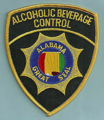 Alabama State Alcoholic Beverage Control Police Patch