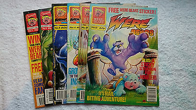 WereBears Comic Collection (Issues 1-6) ULTRA RARE!!!