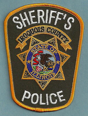 Iroquois County Sheriff Illinois Police Patch