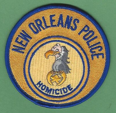 New Orlean Louisiana Police Homicide Division Patch