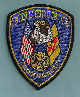 Loving New Mexico Police Patch