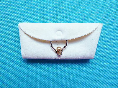 Vintage Barbie White Purse From 1960's