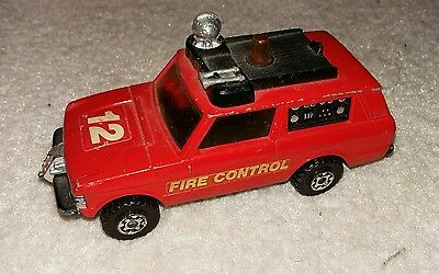 Matchbox super kings range rover fire control engine
