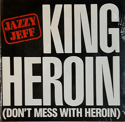 """Jazzy Jeff – King Heroin (Don't Mess With Heroin) 12"""" Vinyl"""