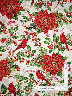 Cotton Quilting Fabric #1102 Fabri-Quilt Asian Garden Patch by the Yard