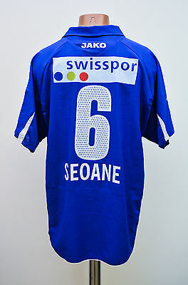 Luzern Switzerland Match Worn Issue Home Football Shirt Jersey Jako Seoane #6