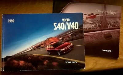 Volvo Owners Manual S40 V40 and Service Book