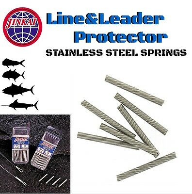 Jinkai Line & Leader Protector Premium Quality Stainless Springs