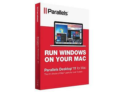Parallels Desktop 11 for Mac, Brand NEW  - Free Shipping