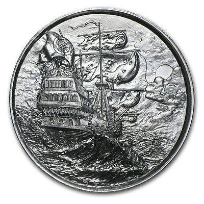 Elemental Privateer 2 oz Silver Round, Set of 5 Coins (#1 through #5)