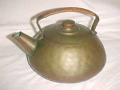 Craftsmen Arts Crafts Warty Copper Tea Kettle Handmade Hammered Craftsman Studio