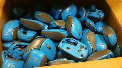 WHOLESALE Logitech Mouse M185 & M187 Blow Out Price Box of 200, NO RECEIVERS