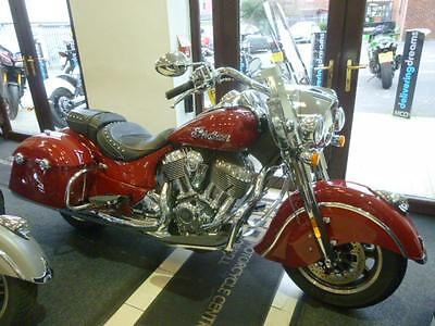 Indian Springfield Ex Indian Demo 2016 3000 Miles
